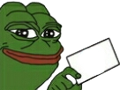 Sticker vote blanc insoumis melenchon pepe