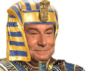 Sticker jesus risitas pharaon egypte