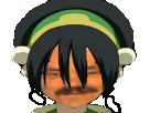 Sticker avatar toph bei fong earth terre