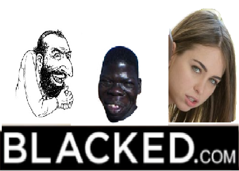 Sticker blacked mamadou noir renoi juif