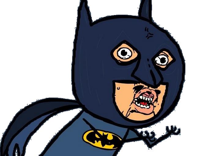 Sticker other batman signaleur wtf what quoi