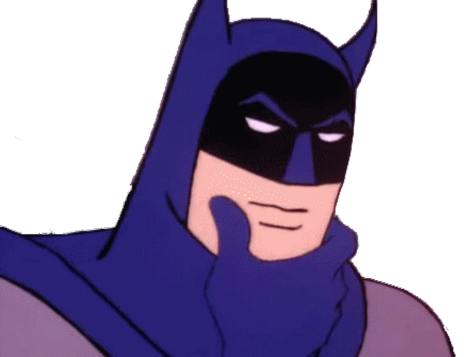 Sticker other batman signaleur hm reflexion question