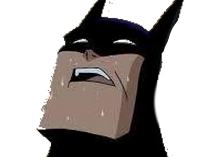 Sticker other batman signaleur sueur