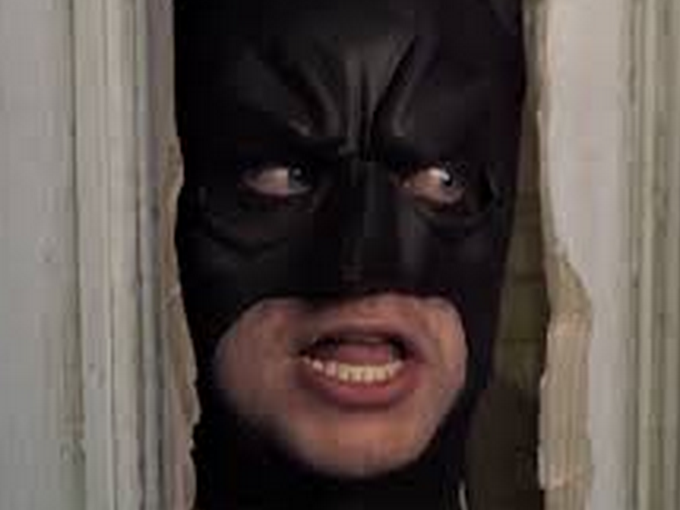 Sticker other batman signaleur voyeur