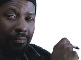Sticker other denzel washington pardon quoi cigarette clope