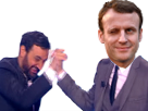 Sticker other macron hanouna tpmp check