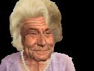 Sticker risitas mamie meme vielle jesus femme dame