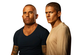 Sticker lincoln burrows michael scofield kaniel outis brothers freres prison break