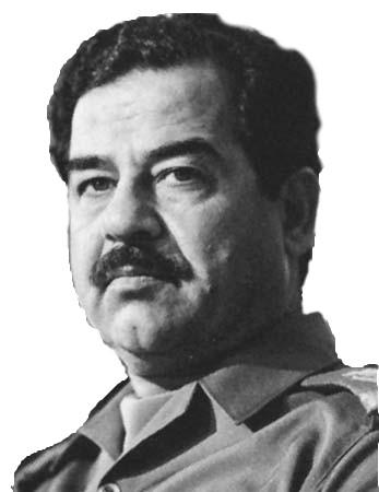 Sticker politic saddam hussein irak musulman islam arabe