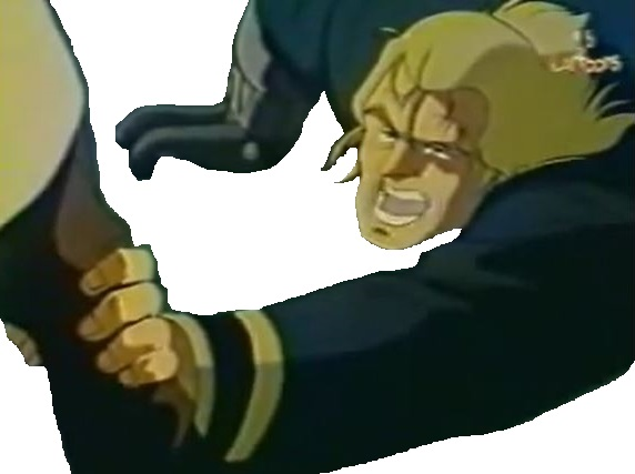 Sticker nicky larson city hunter mechant encore mort simule vf doublage blond cadavre survivant