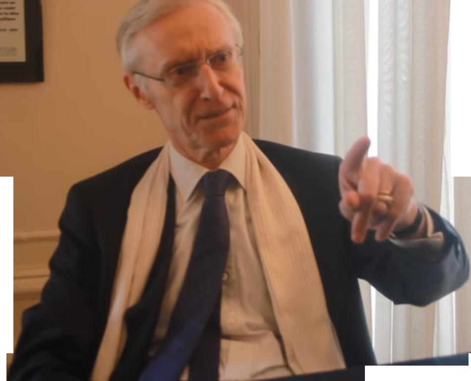 Sticker politic henry de lesquen classique pas dire brule