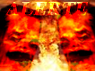 Sticker risitas alerte nuke ww3 enfer fin du monde