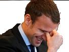 Sticker politic macron mdr chance president