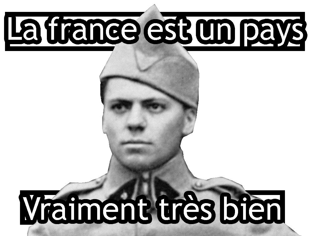 Sticker other jean moulin la france est un pays vraiment tres bien pianitza meme 420 politique resistance sarcasme ironie ta mere la putain