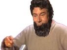 Sticker barbe jesus mix risitas