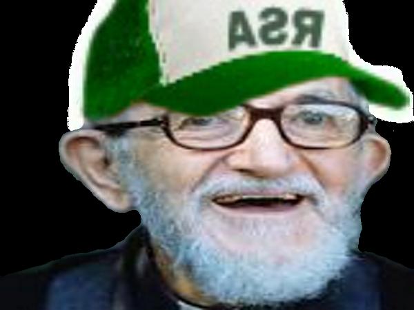 Sticker risitas rsa abbe pierre vieux barbe