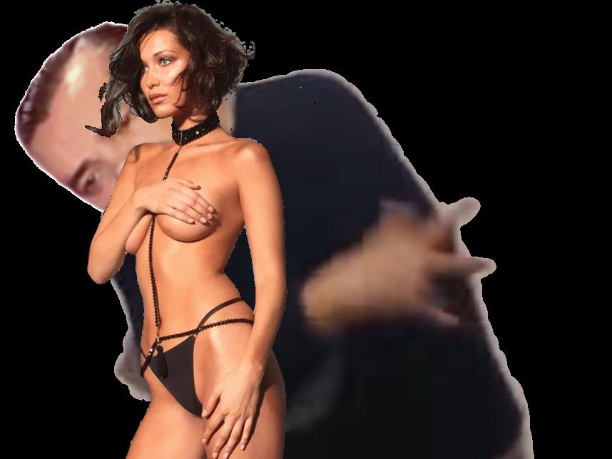 Sticker other femme fille seins boobs poitrine main collier choker nue