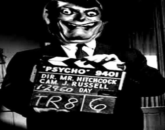 Sticker risitas creepy alfred hitchcock acteur cinema peur horrible horreur mix