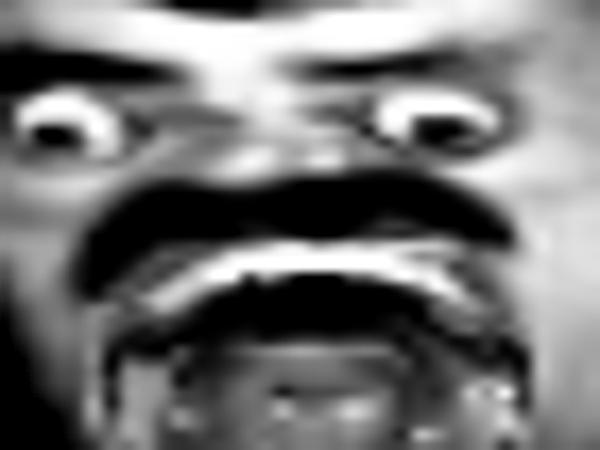 Sticker creepy mix horreur peur jesus horrible risitas horreur zoom