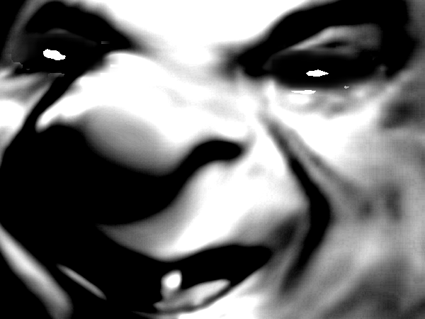 Sticker risitas creepy yeux zoom mix peur horrible horreur