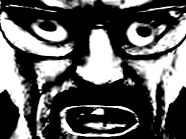 Sticker risitas heisenberg breaking bad creepy deform peur horrible horreur mix zoom