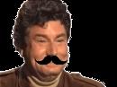 Sticker jesus quintero risitas jvc sourire rire moqueur hap moustache bg classe
