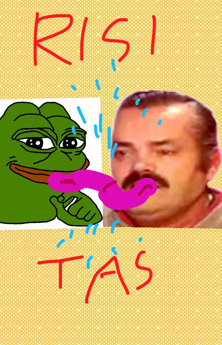 Sticker risitas pepe langue cunni bukkake gay