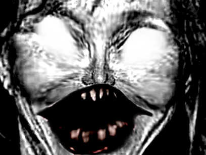 Sticker risitas brigitte creepy macron 2017 peur horrible horreur zoom dents