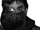 Sticker risitas jesus quintero creepy