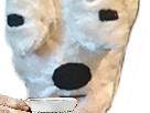 Sticker other chien tasse blase perplexe peluche eco