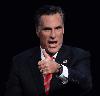 Sticker politic mitt romney costard republicain americain amerique usa main pouce gg bien joue good job
