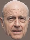 Sticker politic alain juppe republicain droite ancien premier ministre france francais visage serieux