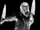 Sticker risitas creepy gobelin couteau assassin peur horrible horreur