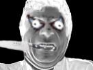 Sticker risitas couteau creepy assassin jesus peur horrible horreur
