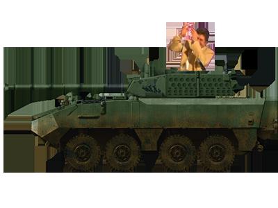 Sticker risitas armee belge solide char tank