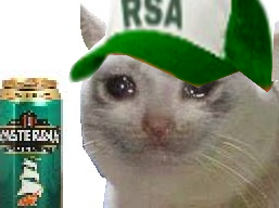 Sticker other chat rsa casquette triste