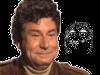 Sticker risitas jesus quintero jvc sourire rigole moque hap content costard meme memes dessin illustration visage ressemblance