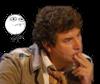 Sticker jesus quintero risitas jvc reflexion pensif doigt meme memes dessin illustration visage ressemblance