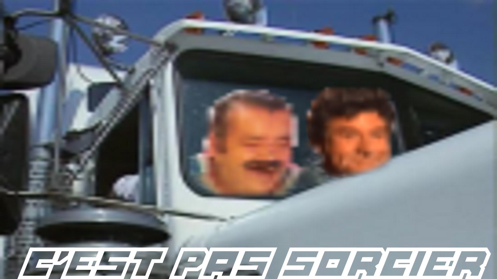 Sticker risitas jesus cest pas sorcier cps camion