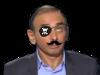 Sticker other eric zemmour chroniqueur journaliste ecrivain rtl onpc politic ben voyons non attendez pirate moustache cache oeil