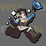 Sticker other mei overwatch troll