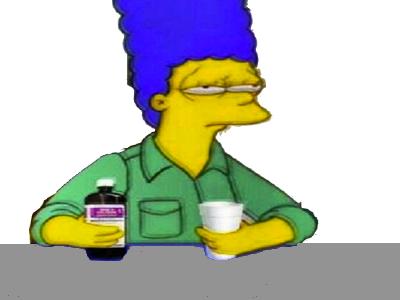 Sticker other marge dxm depressif bad drogue