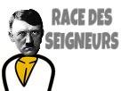 Sticker risitas masterrace hitler race des seigneurs nazi