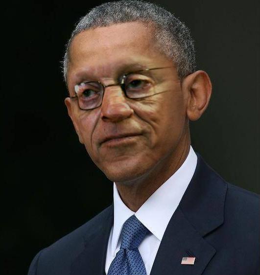 Sticker larry silverstein barack obama president usa etats unis la chance