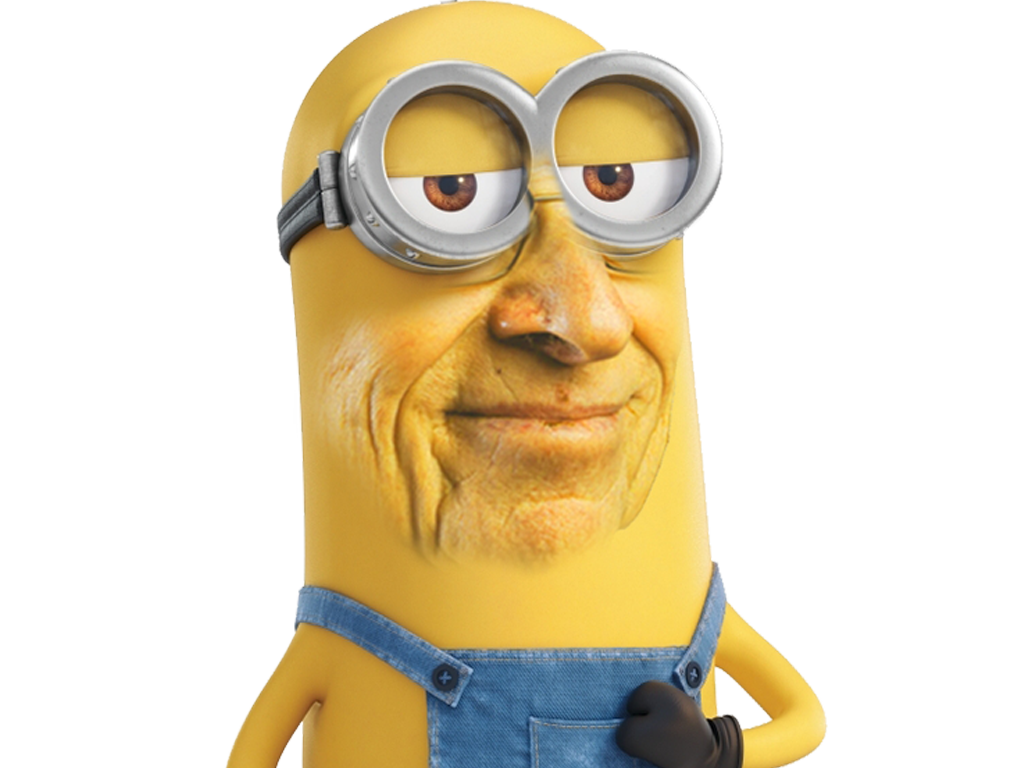 Sticker other larry minion chanceux