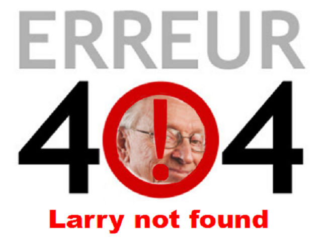 Sticker other larry 404 not found