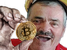 Sticker risitas bitcoin mine mineur miner ethereum litecoin crypto tradeur trader