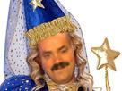 Sticker risitas fee princesse baguette magique