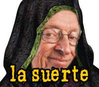 Sticker other saddler larry la suerte la chance