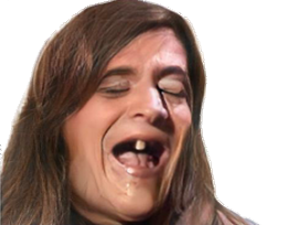 Sticker risitas peito cunao monodent goudja faceapp femme cheveux rire trans travelo